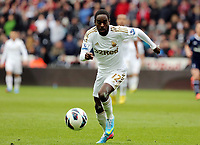 Pictured: Nathan Dyer of Swansea.  Saturday 30 March 2013<br /> Re: Barclay's Premier League, Swansea City FC v Tottenham Hotspur at the Liberty Stadium, south Wales.