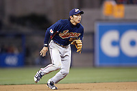 Munemori Kawasuki of Japan during World Baseball Championship at Angel Stadium in Anaheim,California on March 20, 2006. Photo by Larry Goren/Four Seam Images