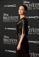 """LOS ANGELES, USA. September 30, 2019: Angelina Jolie at the world premiere of """"Maleficent: Mistress of Evil"""" at the El Capitan Theatre.<br /> Picture: Jessica Sherman/Featureflash"""