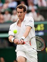 29-6-09, England, London, Wimbledon, Andy Murray