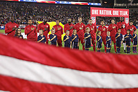 Carson, CA - Sunday January 28, 2018: United States (USA) prior to an international friendly between the men's national teams of the United States (USA) and Bosnia and Herzegovina (BIH) at the StubHub Center.