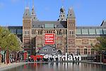 Rjikmuseum in Amsterdam, Netherlands
