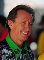 May 6, 2012; Commerce, GA, USA: NHRA funny car driver Bob Bode during the Southern Nationals at Atlanta Dragway. Mandatory Credit: Mark J. Rebilas-