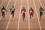 Athletes compete during the IAAF 15th World Track & Field Championships Beijing 2015 at the Beijing National Stadium on 23 August 2015 in Beijing, China. Photo by Victor Fraile / Power Sport Images