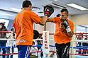 Boxing: Nonito Donaire media workout