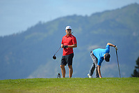 Harry Na. Day one of the Renaissance Brewing NZ Stroke Play Championship at Paraparaumu Beach Golf Club in Paraparaumu, New Zealand on Thursday, 18 March 2021. Photo: Dave Lintott / lintottphoto.co.nz