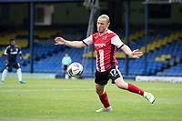 Matt Jay of Exeter City controls the ball during Southend United vs Exeter City, Sky Bet EFL League 2 Football at Roots Hall on 10th October 2020