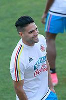 Colombia's Radamel Falcao during training session. June 6,2017.(ALTERPHOTOS/Acero) (NortePhoto.com) (NortePhoto.com)