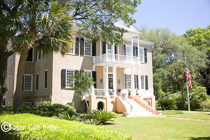 """Thomas Fuller House, """"Tabby Manse"""" - circa 1786, a lovely antebellum home in Beaufort, SC, a National Historic District."""