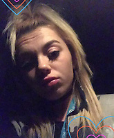 Pictured: Sammy Lee Lodwig, named locally as the 22 year old woman who was attacked in Carlton Terrace, Swansea, Wales, UK.<br /> Re: A 22 year old woman, named locally as Sammy Lee Lodwig, has died after being attacked Carlton Terrace in Swansea at 3:10am.<br /> South Wales Police said a woman had been seriously assaulted and subsequently died.<br /> Armed officers were deployed, along with the police helicopter, and a number of cordons remain in place while officers carry out an investigation.