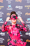 Actress Maria Barranco attends the red carpet previous to Goya Awards 2021 Gala in Malaga . March 06, 2021. (Alterphotos/Francis González)