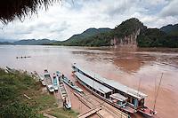 Le Mékong, non loin de Luang Prabang Laos.
