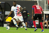 CLEVELAND, OHIO - JUNE 22: Jozy Altidore during a 2019 CONCACAF Gold Cup group D match between the United States and Trinidad & Tobago at FirstEnergy Stadium on June 22, 2019 in Cleveland, Ohio.