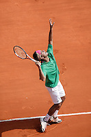 18-4-06, Monaco, Tennis,Master Series, Clement in his match against Nadal