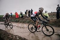 Jasper Stuyven (BEL/Trek-Segafredo)<br /> <br /> 118th Paris-Roubaix 2021 (1.UWT)<br /> One day race from Compiègne to Roubaix (FRA) (257.7km)<br /> <br /> ©kramon