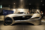 """October 16, 2017, Kamakura, Japan - Japan's elecronics maker Mitsubishi Electric displays a concept vehicle """"EMIRAI 4"""" featuring net generation driving-assistance technology at the company's laboratory in Kamakura, suburban Tokyo on Monday, Octoebr 16, 2017. The EMIRAI 4 which has technologies of driver sensing, human machine interface and lighting system, will go on display at the upcoming Tokyo motor Show.   (Photo by Yoshio Tsunoda/AFLO) LWX -ytd-"""