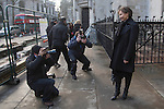 Picture shows: Marina Litvinenko smiling outside the High Court in London today after winning the judgement.<br /> <br /> The widow of murdered former KGB spy Alexander Litvinenko has won a High Court victory raising her hopes of obtaining a public inquiry into her husband's death.<br /> Marina Litvinenko challenged the UK Government's decision to await the outcome of a normal inquest before deciding whether there should be an inquiry with powers to probe more deeply into the killing.<br /> <br /> Now three High Court judges have decided that Home Secretary Theresa May must reconsider the decision in the light of their ruling.<br /> <br /> <br /> <br /> <br /> Pic by Gavin Rodgers/Pixel 8000 Ltd