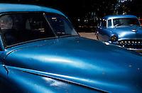 Cuba, Oldtimer auf der Agromonte in Habana