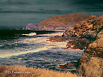 Pacific Coast at Montara, California (Infrared)