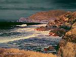 Pacific Coast at Montara, California (Infrared)