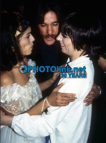 1977 FILE PHOTO<br /> New York, NY<br /> Bianca Jagger GeraldoRivera Liza Minelli<br /> at Studio 54<br /> Photo by Adam Scull-PHOTOlink.net
