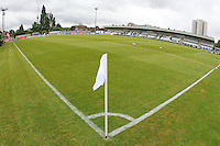General view of the ground ahead of Arsenal Ladies vs Notts County Ladies, FA Women's Super League FA WSL1 Football at Meadow Park on 10th July 2016