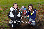Lily and Belle Fogarty Killarney enjoing the Fairy trail in the Desmene Killarney on Saturday