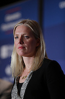 Environment and Climate Change Minister  Catherine McKenna speak in Montreal, March, 29, 2016.<br /> <br /> Photo : Pierre Roussel - Agence Quebec Presse