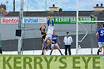 Mark Loone  Templenoe rises above team mate Tadhg Morley and Kieran O'Leary Dr Crokes during the SFC quarter final in Fitzgerald Stadium on Sunday