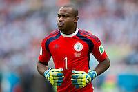 Goalkeeper Vincent Enyeama of Nigeria