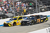 Monster Energy NASCAR Cup Series<br /> AAA 400 Drive for Autism<br /> Dover International Speedway, Dover, DE USA<br /> Sunday 4 June 2017<br /> Kyle Busch, Joe Gibbs Racing, Pedigree Petcare Toyota Camry, Martin Truex Jr, Furniture Row Racing, Furniture Row/Denver Mattress Toyota Camry<br /> World Copyright: Logan Whitton<br /> LAT Images<br /> ref: Digital Image 17DOV1LW4002