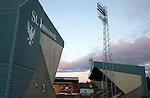 St Johnstone v Inverness Caley Thistle…09.03.16  SPFL McDiarmid Park, Perth<br />McDiarmid Park main stand and Ormond Stand<br />Picture by Graeme Hart.<br />Copyright Perthshire Picture Agency<br />Tel: 01738 623350  Mobile: 07990 594431