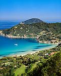 Italien, Toskana, Insel Elba, Blick auf den Golf von Biodola | Italy, Tuscany, island Elba, view at Gulf of Biodola