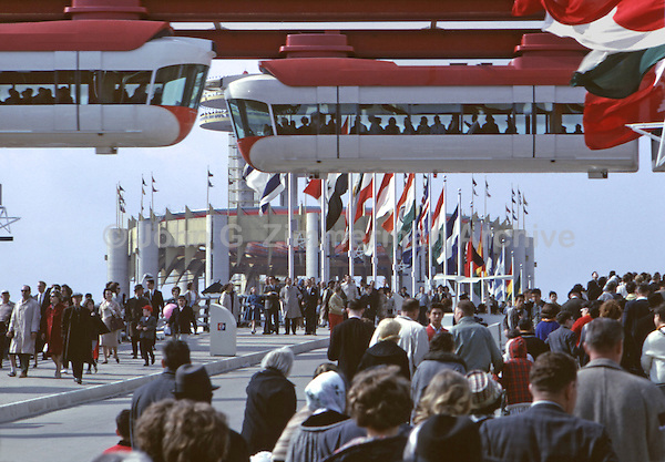 1964 World's Fair, Flushing Meadows, New York. Photo by John G. Zimmerman.