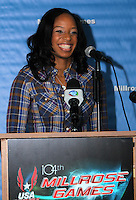 2011 Millrose Games Press Conference