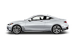 Car Driver side profile view of a 2017 Infiniti Q60 Premium 2 Door Coupe Side View