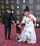 """Carey Hart, Willow Sage and Pink attends The Premiere Of Disney's """"Alice Through The Looking Glass"""" held at The El Capitan Theatre  in Hollywood, California on May 23,2016                                                                               © 2016 Hollywood Press Agency"""