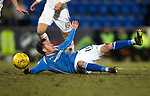 St Johnstone v Inverness Caley Thistle…09.03.16  SPFL McDiarmid Park, Perth<br />Danny Swanson appeals after being brought down by Gary Warren<br />Picture by Graeme Hart.<br />Copyright Perthshire Picture Agency<br />Tel: 01738 623350  Mobile: 07990 594431