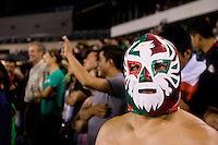 Mexico Fan. The USMNT tied Mexico, 1-1, during their game at Lincoln Financial Field in Philadelphia, PA.