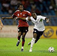 Maurice Edu, 2010 FIFA World Cup qualifying.U.S. Men vs. Trinidad & Tobago.Hasely Crawford Stadium.Port of Spain, Trinidad.October 14, 2008.Trinidad and Tobago 2, USA 1