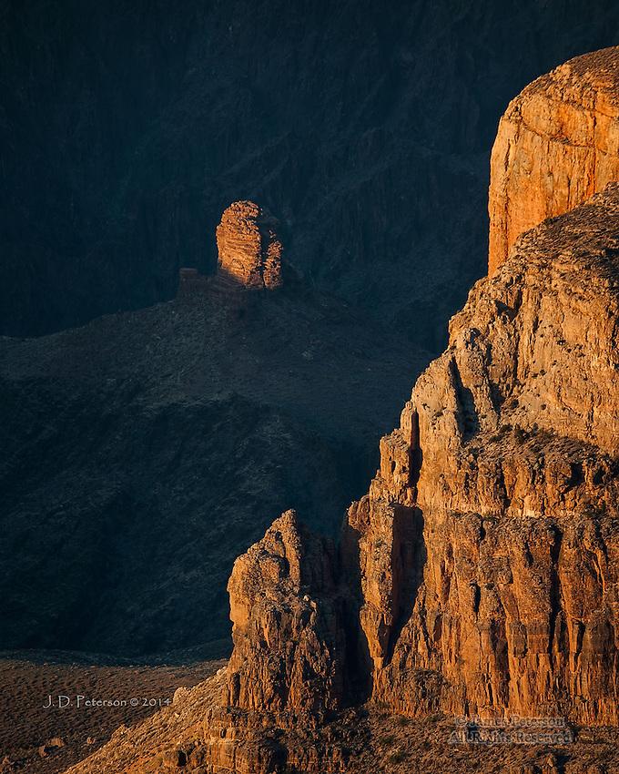 Last Light, Grand Canyon, Arizona