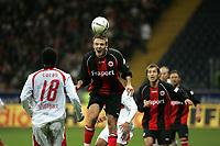 Kopfball Alex Meier (Eintracht Frankfurt) +++ Marc Schueler +++ Eintracht Frankfurt vs. VfB Stuttgart, 16.02.2007, Commerzbank Arena Frankfurt  +++ Bild ist honorarpflichtig. Marc Schueler, Kreissparkasse Grofl-Gerau, BLZ: 50852553, Kto.: 8047714