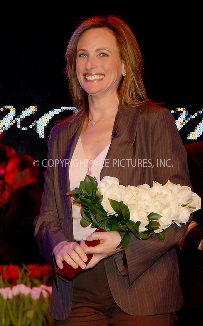 WWW.ACEPIXS.COM . . . . . ....NEW YORK, FEBRUARY 22 2006....Marlee Matlin at the MS Noordam Maiden Voyage ceremony held at Pier 90.....Please byline: KRISTIN CALLAHAN - ACEPIXS.COM.. . . . . . ..Ace Pictures, Inc:  ..Philip Vaughan (212) 243-8787 or (646) 679 0430..e-mail: info@acepixs.com..web: http://www.acepixs.com