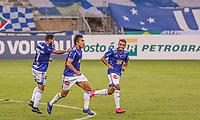 Belo Horizonte (MG), 08/09/2020 - Cruzeiro-CRB - Marcelo Moreno comemora gol do Cruzeiro Partida entre Cruzeiro e CRB pelo Campeonato Brasileiro da Serie nesta segunda-feira (07) no estadio do Mineirao. (Foto: Bruno Santos/Codigo 19/Codigo 19)