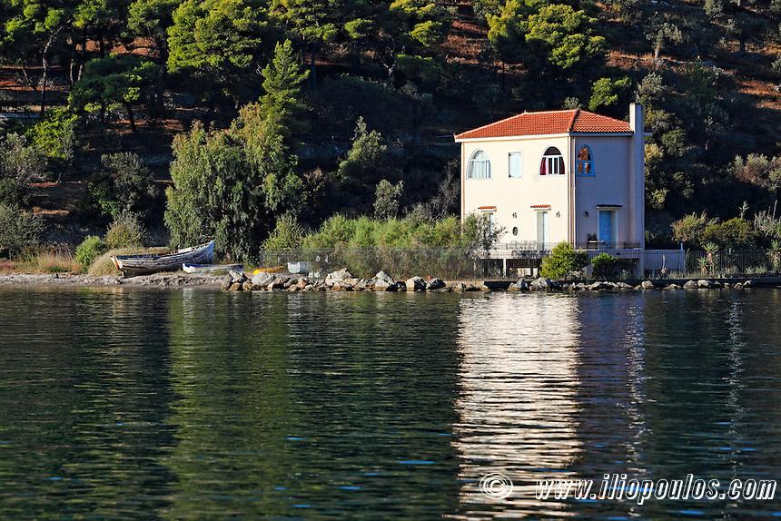 A small house in Galatas across Poros, Greece