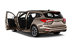 Car images close up view of a 2019 Ford Focus-Clipper  ST-Line 5 Door Wagon doors