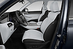 Front seat view of a 2020 Hyundai Palisade SEL 5 Door SUV front seat car photos