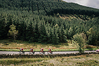 Team Katusha-Alpecin<br /> <br /> Time Trial through the magnificent Lake District National Park in Cumbria<br /> <br /> Stage 5 (TTT): Cockermouth to Whinlatter Pass (14km)<br /> 15th Ovo Energy Tour of Britain 2018