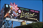 Hall and Oates billboard on the Sunset Strip circa 1978