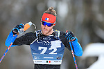 Coronavirus outbreak - 50th Marcialonga - Visma Ski Classic - A 70 km cross-country ski marathon with around 2000 skiers from Moena to Cavalese, Trentino, North Italy on 31st of January 2021. In action skier 72 COMBEY Paul  FRA